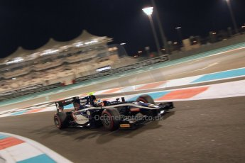 World © Octane Photographic Ltd. 2014 Formula 1 Abu Dhabi Grand Prix, GP2 Qualifying, Friday 21st November 2014. Artem Markelov - RT Russian Time. Digital Ref : 1162CB7D8227