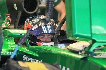 World © Octane Photographic Ltd. Tuesday 25th November 2014. Abu Dhabi Testing - Yas Marina Circuit. Caterham F1 Team CT05 – William Stevens. Digital Ref: 1174CB1D8006