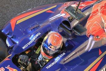 World © Octane Photographic Ltd. Tuesday 25th November 2014. Abu Dhabi Testing - Yas Marina Circuit. Scuderia Toro Rosso STR9 – Max Verstappen. Digital Ref: 1174CB1D8034