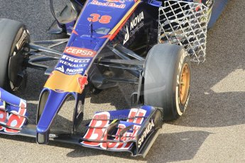 World © Octane Photographic Ltd. Tuesday 25th November 2014. Abu Dhabi Testing - Yas Marina Circuit. Scuderia Toro Rosso STR9 – Max Verstappen. Digital Ref: 1174CB1D8124