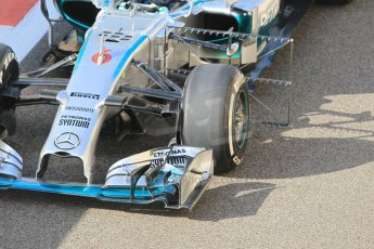 World © Octane Photographic Ltd. Tuesday 25th November 2014. Abu Dhabi Testing - Yas Marina Circuit. Mercedes AMG Petronas F1 W05 Hybrid – Nico Rosberg. Digital Ref: 1174CB1D8136