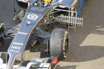 World © Octane Photographic Ltd. Tuesday 25th November 2014. Abu Dhabi Testing - Yas Marina Circuit. Sauber C33 – Marcus Ericsson. Digital Ref: 1174CB1D8146