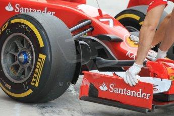 World © Octane Photographic Ltd. Tuesday 25th November 2014. Abu Dhabi Testing - Yas Marina Circuit. Scuderia Ferrari F14T - Kimi Raikkonen. Digital Ref: 1174CB1D8391