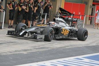 World © Octane Photographic Ltd. Tuesday 25th November 2014. Abu Dhabi Testing - Yas Marina Circuit. McLaren Honda MP4-29H/1X1 - Stoffel Vandoorne. Digital Ref: 1174CB1D8574