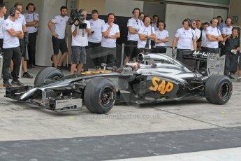 World © Octane Photographic Ltd. Tuesday 25th November 2014. Abu Dhabi Testing - Yas Marina Circuit. McLaren Honda MP4-29H/1X1 - Stoffel Vandoorne. Digital Ref: 1174CB1D8589
