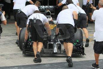 World © Octane Photographic Ltd. Tuesday 25th November 2014. Abu Dhabi Testing - Yas Marina Circuit. McLaren Honda MP4-29H/1X1 - Stoffel Vandoorne. Digital Ref: 1174CB1D8611