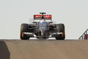World © Octane Photographic Ltd. Tuesday 25th November 2014. Abu Dhabi Testing - Yas Marina Circuit. Sauber C33 – Marcus Ericsson. Digital Ref: 1174CB7D8687
