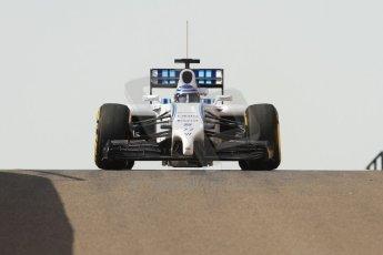 World © Octane Photographic Ltd. Tuesday 25th November 2014. Abu Dhabi Testing - Yas Marina Circuit. Williams Racing FW36 – Valtteri Bottas. Digital Ref: 1174CB7D8708