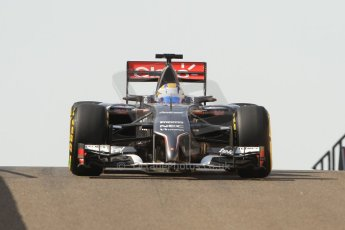 World © Octane Photographic Ltd. Tuesday 25th November 2014. Abu Dhabi Testing - Yas Marina Circuit. Sauber C33 – Marcus Ericsson. Digital Ref: 1174CB7D8719