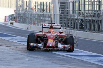World © Octane Photographic Ltd. Tuesday 25th November 2014. Abu Dhabi Testing - Yas Marina Circuit. Scuderia Ferrari F14T - Kimi Raikkonen. Digital Ref: 1174LB1D8093