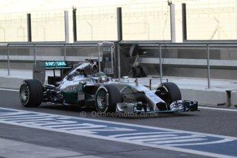 World © Octane Photographic Ltd. Tuesday 25th November 2014. Abu Dhabi Testing - Yas Marina Circuit. Mercedes AMG Petronas F1 W05 Hybrid – Nico Rosberg. Digital Ref: 1174LB7L9558
