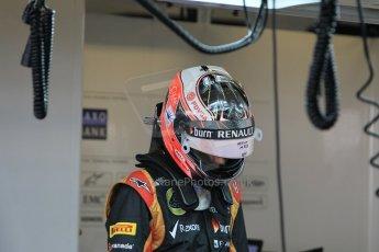 World © Octane Photographic Ltd. Wednesday 26th November 2014. Abu Dhabi Testing - Yas Marina Circuit. Lotus F1 Team E22 – Esteban Ocon. Digital Ref: 1175CB1D8619