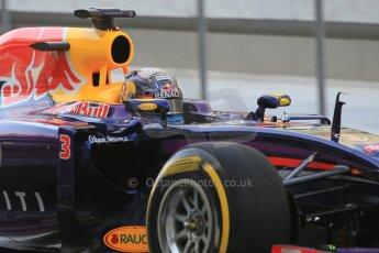 World © Octane Photographic Ltd. Wednesday 26th November 2014. Abu Dhabi Testing - Yas Marina Circuit. Infiniti Red Bull Racing RB10 – Daniel Ricciardo. Digital Ref: 1175CB1D9267