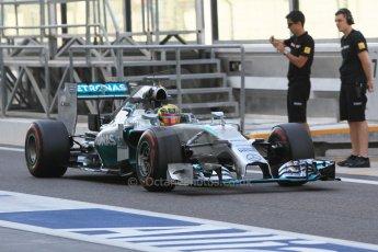 World © Octane Photographic Ltd. Wednesday 26th November 2014. Abu Dhabi Testing - Yas Marina Circuit. Mercedes AMG Petronas F1 W05 Hybrid - Pascal Wehrlein. Digital Ref: 1175CB1D9278