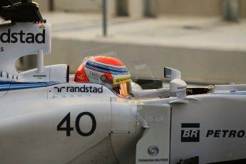 World © Octane Photographic Ltd. Wednesday 26th November 2014. Abu Dhabi Testing - Yas Marina Circuit. Williams Racing FW36 – Felipe Nasr. Digital Ref: 1175CB1D9348