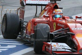 World © Octane Photographic Ltd. Wednesday 26th November 2014. Abu Dhabi Testing - Yas Marina Circuit. Scuderia Ferrari F14T – Raffaele Marciello. Digital Ref: 1175CB1D9468