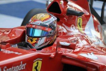 World © Octane Photographic Ltd. Wednesday 26th November 2014. Abu Dhabi Testing - Yas Marina Circuit. Scuderia Ferrari F14T – Raffaele Marciello. Digital Ref: 1175CB1D9478