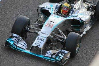 World © Octane Photographic Ltd. Wednesday 26th November 2014. Abu Dhabi Testing - Yas Marina Circuit. Mercedes AMG Petronas F1 W05 Hybrid - Pascal Wehrlein. Digital Ref: 1175CB1D9612
