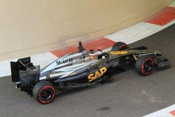 World © Octane Photographic Ltd. Wednesday 26th November 2014. Abu Dhabi Testing - Yas Marina Circuit. McLaren Honda MP4-29/1X1 – Stoffel Vandoorne. Digital Ref: 1175CB1D9666