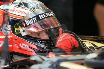 World © Octane Photographic Ltd. Wednesday 26th November 2014. Abu Dhabi Testing - Yas Marina Circuit. Lotus F1 Team E22 – Esteban Ocon. Digital Ref: 1175LB1D8373