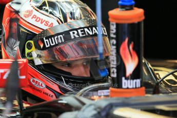 World © Octane Photographic Ltd. Wednesday 26th November 2014. Abu Dhabi Testing - Yas Marina Circuit. Lotus F1 Team E22 – Esteban Ocon. Digital Ref: 1175LB1D8378