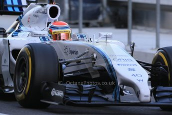 World © Octane Photographic Ltd. Wednesday 26th November 2014. Abu Dhabi Testing - Yas Marina Circuit. Williams Racing FW36 – Felipe Nasr. Digital Ref: 1175LB1D8487