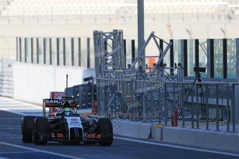 World © Octane Photographic Ltd. Wednesday 26th November 2014. Abu Dhabi Testing - Yas Marina Circuit. Sahara Force India VJM07 – Spike Goddard. Digital Ref: 1175LB1D8533