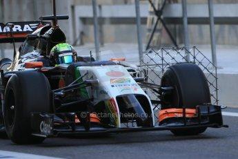 World © Octane Photographic Ltd. Wednesday 26th  November 2014. Abu Dhabi Testing - Yas Marina Circuit. Sahara Force India VJM07 – Spike Goddard. Digital Ref: 1175LB1D8548