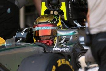 World © Octane Photographic Ltd. Wednesday 26th November 2014. Abu Dhabi Testing - Yas Marina Circuit. Mercedes AMG Petronas F1 W05 Hybrid - Pascal Wehrlein. Digital Ref: 1175LB1D8644