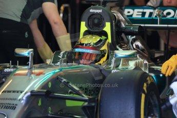 World © Octane Photographic Ltd. Wednesday 26th November 2014. Abu Dhabi Testing - Yas Marina Circuit. Mercedes AMG Petronas F1 W05 Hybrid - Pascal Wehrlein. Digital Ref: 1175LB1D8657