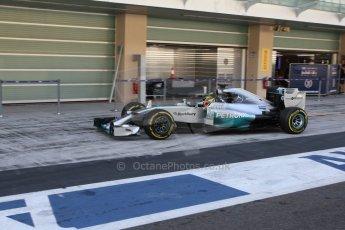 World © Octane Photographic Ltd. Wednesday 26th November 2014. Abu Dhabi Testing - Yas Marina Circuit. Mercedes AMG Petronas F1 W05 Hybrid - Pascal Wehrlein. Digital Ref: 1175LB7L9867