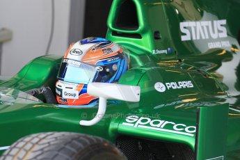 World © Octane Photographic Ltd. Thursday 27th November 2014. GP2 Testing - Yas Marina, United Arab Emirates. Richie Stanaway - Status Grand Prix. Digital Ref :