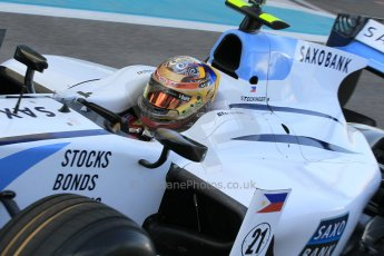 World © Octane Photographic Ltd. Thursday 27th November 2014. GP2 Testing - Yas Marina, United Arab Emirates. Marlon Stockinger - MP Motorsport. Digital Ref :