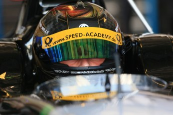 World © Octane Photographic Ltd. Thursday 27th November 2014. GP2 Testing - Yas Marina, United Arab Emirates. Marvin Kirchhofer - Hilmer Motorsport. Digital Ref: 1177LB1D9808