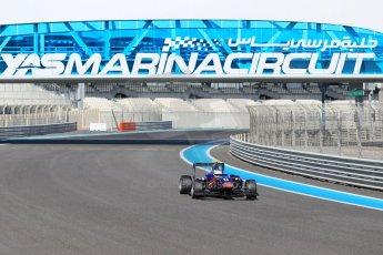 World © Octane Photographic Ltd. Thursday 27th November 2014. GP3 Testing - Yas Marina, United Arab Emirates. Matt Rao - Carlin. Digital Ref :