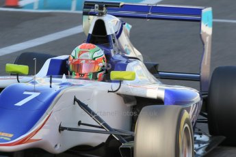 World © Octane Photographic Ltd. Thursday 27th November 2014. GP3 Testing - Yas Marina, United Arab Emirates. Antonio Fuoco - Koiranen GP. Digital Ref :