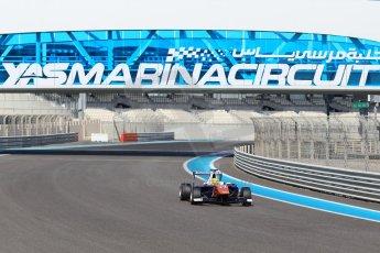 World © Octane Photographic Ltd. Thursday 27th November 2014. GP3 Testing - Yas Marina, United Arab Emirates. Amaury Bonduel - Trident. Digital Ref :