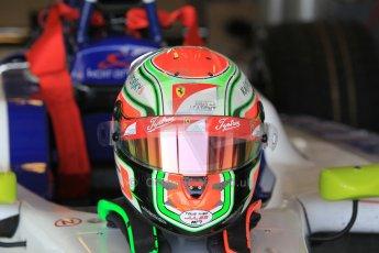World © Octane Photographic Ltd. Thursday 27th November 2014. GP3 Testing - Yas Marina, United Arab Emirates. Tatiana Calderon - ART Grand Prix. Digital Ref :