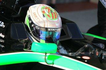 World © Octane Photographic Ltd. Thursday 27th November 2014. GP3 Testing - Yas Marina, United Arab Emirates. Matt Parry - Status Grand Prix. Digital Ref : 1176CB1D9921