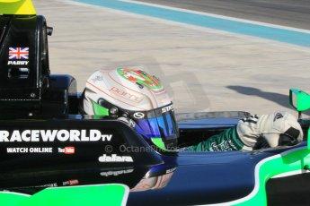 World © Octane Photographic Ltd. Thursday 27th November 2014. GP3 Testing - Yas Marina, United Arab Emirates. Matt Parry - Status Grand Prix. Digital Ref : 1176CB1D9928