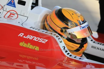 World © Octane Photographic Ltd. Thursday 27th November 2014. GP3 Testing - Yas Marina, United Arab Emirates. Artur Janosz - ART Grand Prix. Digital Ref :