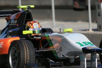World © Octane Photographic Ltd. Thursday 27th November 2014. GP3 Testing - Yas Marina, United Arab Emirates. Ling Kang - Hilmer Motorsport. Digital Ref : 1176LB1D9220