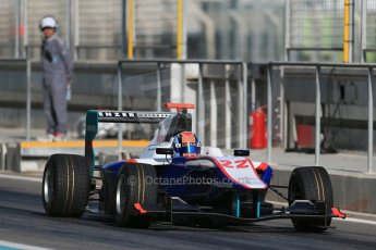 World © Octane Photographic Ltd. Thursday 27th November 2014. GP3 Testing - Yas Marina, United Arab Emirates. Ralph Boschung- Jenzer Motorsport. Digital Ref : 1176LB1D9279