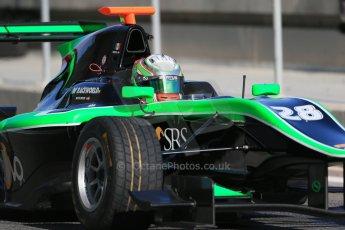 World © Octane Photographic Ltd. Thursday 27th November 2014. GP3 Testing - Yas Marina, United Arab Emirates. Alfonso Celis. Jr - Status Grand Prix. Digital Ref : 1176LB1D9319