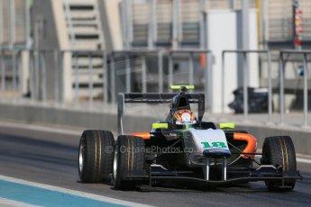World © Octane Photographic Ltd. Thursday 27th November 2014. GP3 Testing - Yas Marina, United Arab Emirates. Ling Kang - Hilmer Motorsport. Digital Ref : 1176LB1D9337