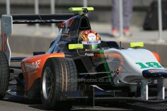 World © Octane Photographic Ltd. Thursday 27th November 2014. GP3 Testing - Yas Marina, United Arab Emirates. Ling Kang - Hilmer Motorsport. Digital Ref : 1176LB1D9344