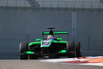 World © Octane Photographic Ltd. Thursday 27th November 2014. GP3 Testing - Yas Marina, United Arab Emirates. Seb Morris - Status Grand Prix. Digital Ref :
