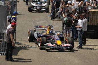 World © Octane Photographic Ltd. Sunday 22nd June 2014. Red Bull Ring, Spielberg – Austria, Formula 1 Legends. Christian Klien - Red Bull RB1. Digital Ref: 1003LB1D1723