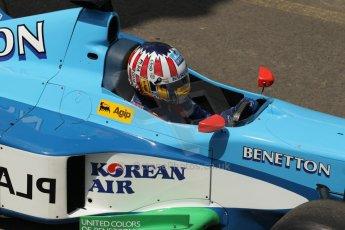 World © Octane Photographic Ltd. Sunday 22nd June 2014. Red Bull Ring, Spielberg – Austria, Formula 1 Legends. Alexander Wurz - Benetton B198. Digital Ref: 1003LB1D1750
