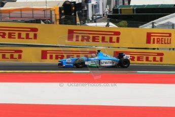 World © Octane Photographic Ltd. Sunday 22nd June 2014. Red Bull Ring, Spielberg – Austria, Formula 1 Legends. Alexander Wurz - Benetton B198. Digital Ref: 1003LB1D4548